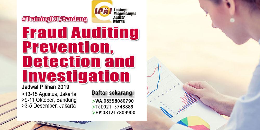 Training Fraud Audit