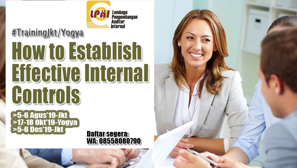 how to establish effective internal control