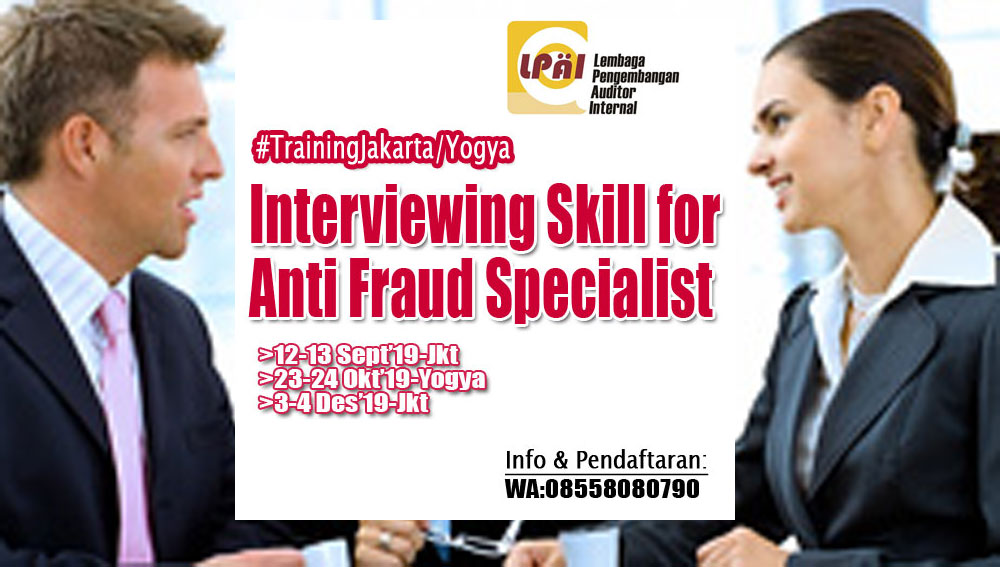 Interviewing Skill for Anti Fraud Specialist