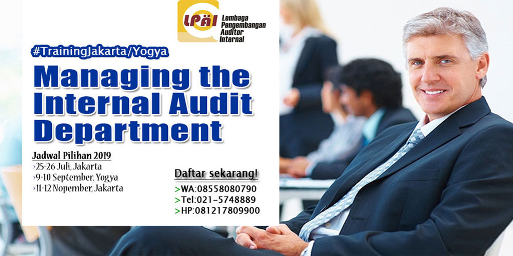 Managing Internal Audit Department
