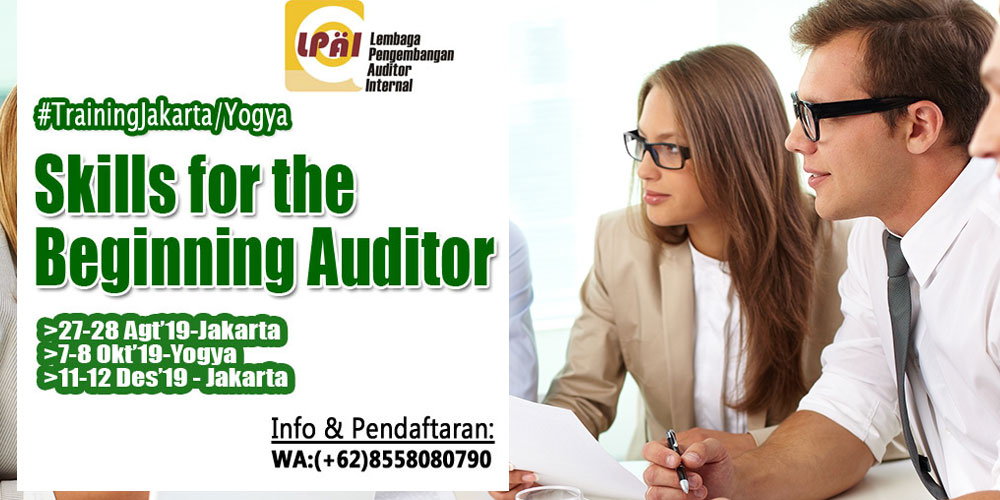 Skills for the Beginning Auditor
